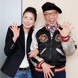 テリー伊藤さんとにっこり笑顔で一緒に写る高橋ひとみ