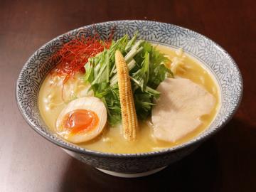 麺Dining比内地鶏白湯らーめん志道【江東区東雲】