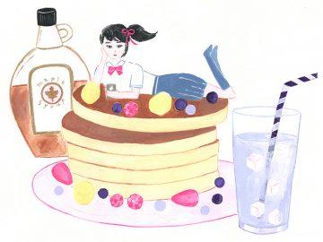 美味なる映画館【1】『君の名は。』のパンケーキ