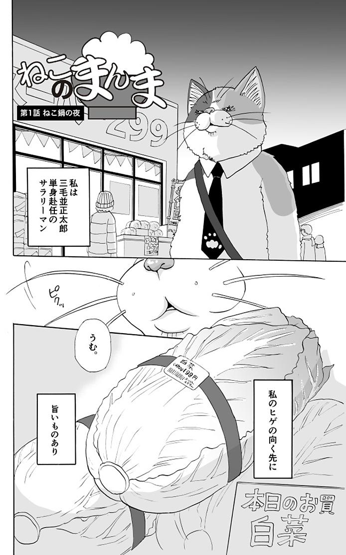 ねこのまんま【1】ねこ鍋の夜