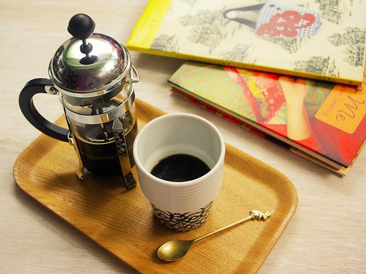 【コーヒープレス古今東西】余裕のない私にも、コーヒープレスはやさしいのに。