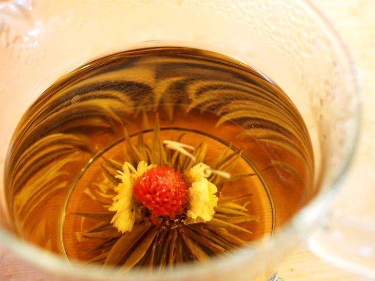 「サウスアベニュー」の薬膳ブレンドと工芸茶(西荻窪)【2】【第6回 小みやげネタ帖】