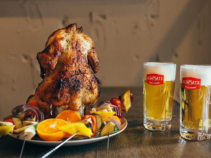 ドイツビールとBBQのペアリング!「SCHMATZ BEER DINING」で期間限定イベント開催中