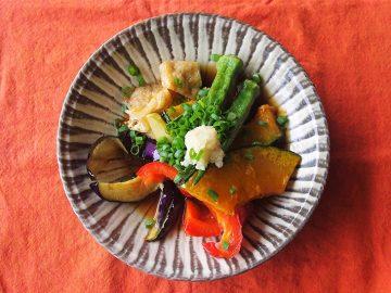 【ベジつまみ】夏野菜のかんたん揚げ浸し|梅雨明け間近のジメジメ期は、温冷イケる2WAY野菜が大活躍、という話