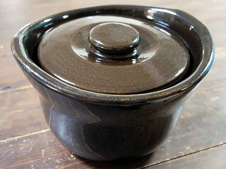 「土釜おこげ 3合炊き」は5000円。