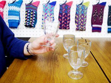 ノルマンディのブロカントで出会ったぽってりワイングラス【酒器も肴のうち】