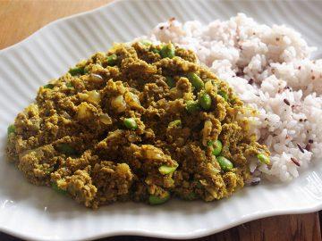 【ベジつまみ】高野豆腐と豆のキーマカレー|完全肉なしベジタリアンカレーの食べ応えに恐れ入った話