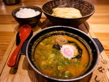 池袋に登場した「明太子つけ麺」専門店が辛くて旨い!