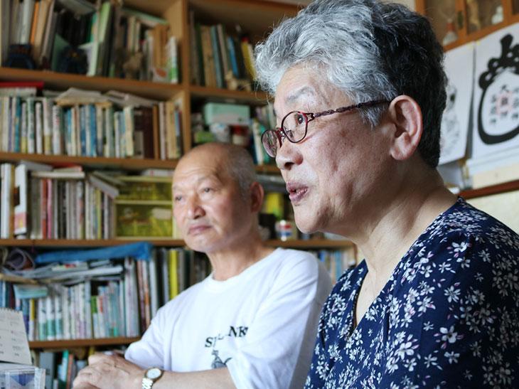 経営主の小栗隆さんとチーズづくりを担当する小栗美笑子さん。いつもニコニコされている美笑子さんだが、酪農の未来を語るときの真っ直ぐな視線に、思わず背筋が伸びる