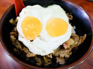 清宮幸太郎など早実ナインが愛する『淡淡』の「焼肉丼エッグ」とは?