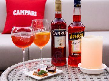 今年のX'masパーティーで「カンパリ」と「アペロール」が注目される理由。カクテルレシピ付き!