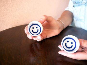 とにかく可愛い!笑顔をもたらすニコニコお猪口が大のお気に入り。【酒器も肴のうち】