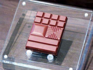 1枚でいろいろな味わい方ができるように、いろんな形状で割れるようになっているのが明治ザ・チョコレートの特徴