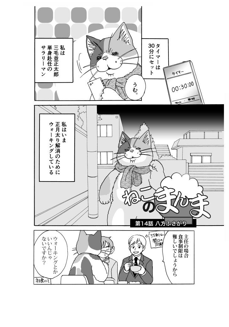 【漫画】ねこのまんま【14】八方ふさがり
