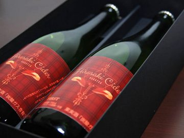 りんご王国・弘前のまちなかの醸造所で仕込んだ辛口シードル「GARUTSU」を飲んできた