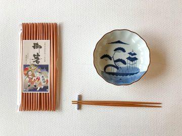 赤染柾バラ利久26cm×18膳1,512円(税込)