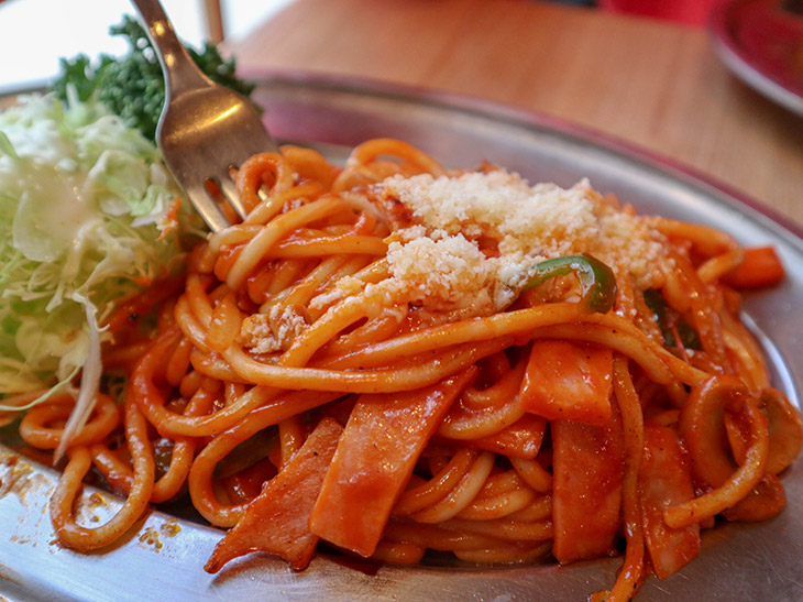 「スパゲティーナポリタン」720円