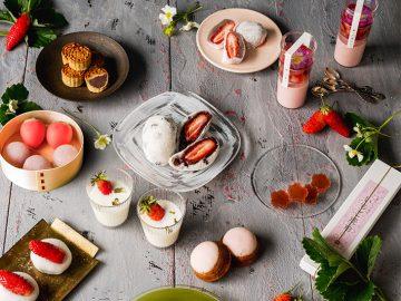 日本初の苺「福羽いちご」を使った伊勢丹のコラボ和菓子がおいしそう!