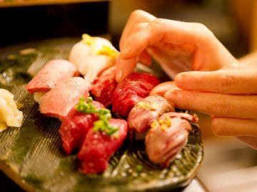 池袋に肉寿司がオープン! 馬・牛・豚・鶏などあらゆる肉を堪能あれ