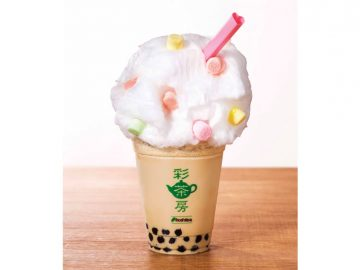 """春らしく進化した""""わたあめ""""を『台湾茶カフェ彩茶房』で味わおう!"""