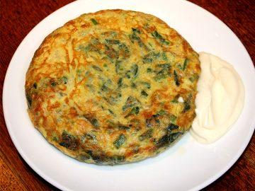 冷蔵庫の食材で作れる超簡単「ほうれん草のスペイン風オムレツ」レシピ