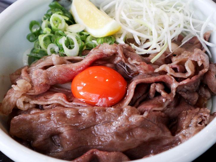 「極上の肉うどん(ぶっかけ風)」1,600円