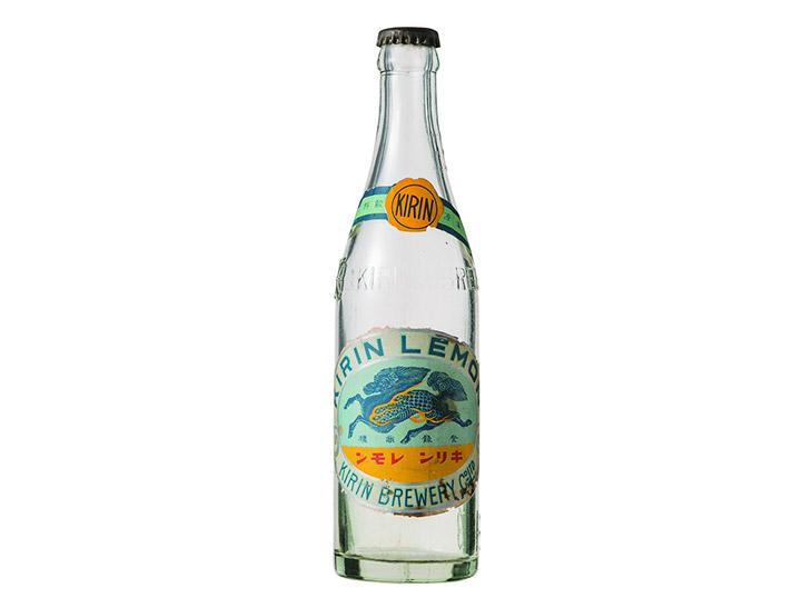 1928年当時のキリンレモンのボトル