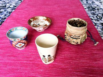 春の京都の情景が香る酒器は仕覆とともに今もなお。【酒器も肴のうち】