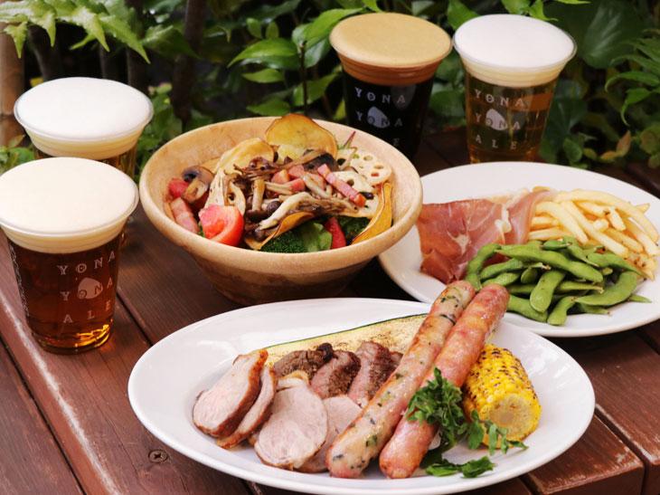 会場限定醸造ビールも! よなよなエールのビアガーデンが赤坂に登場