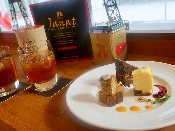 フランスの老舗紅茶ブランド『ジャンナッツ』が提案する紅茶とケーキのマリアージュが絶品!