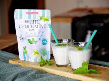 冷たい牛乳と混ぜるだけ!「インスタント ホワイトチョコミントラテ」が簡単で超おいしい