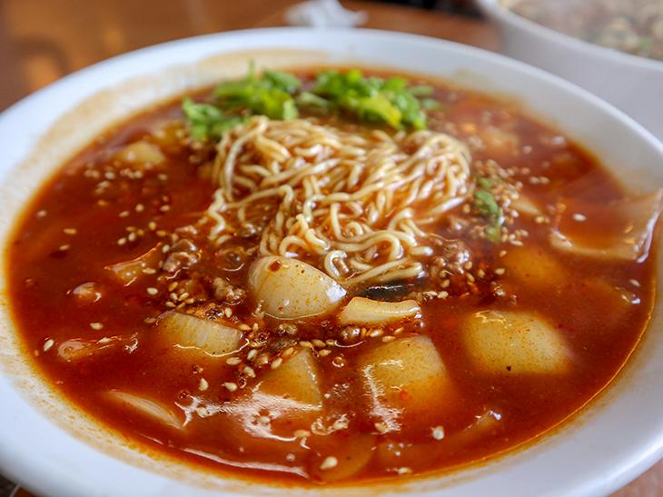 「赤担々麺」930円