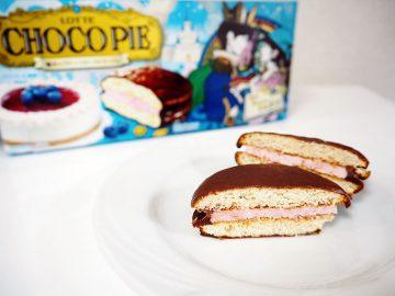 食べ終わった後も楽しめる! チョコパイ「魔法のブルーベリーフロマージュ」がかわいくて美味しい