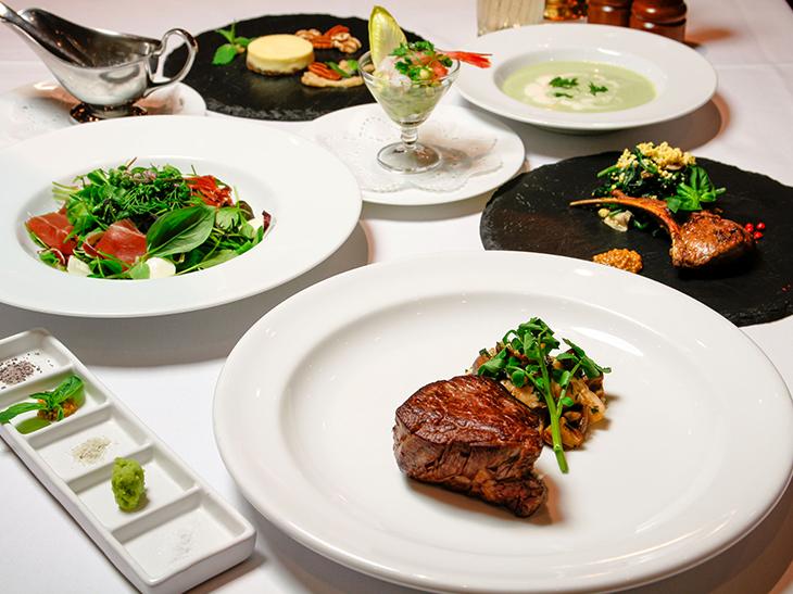 前菜~メインまで食べても糖質が白米0.5膳分!ステーキ専門店の「糖質オフコース」が嬉しすぎる