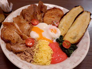 約3人前! 西郷隆盛に見守られながら、上野アメ横で「メガ西郷丼」を食べてきた