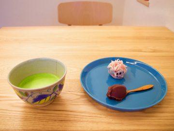 とろ~り濃茶。名店の和菓子と一緒に味わいたいのはどっち?