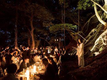 知らなかった土地を感じ、知っているつもりであった日本を再発見する。DINING OUTというプレミアムな野外レストランへ