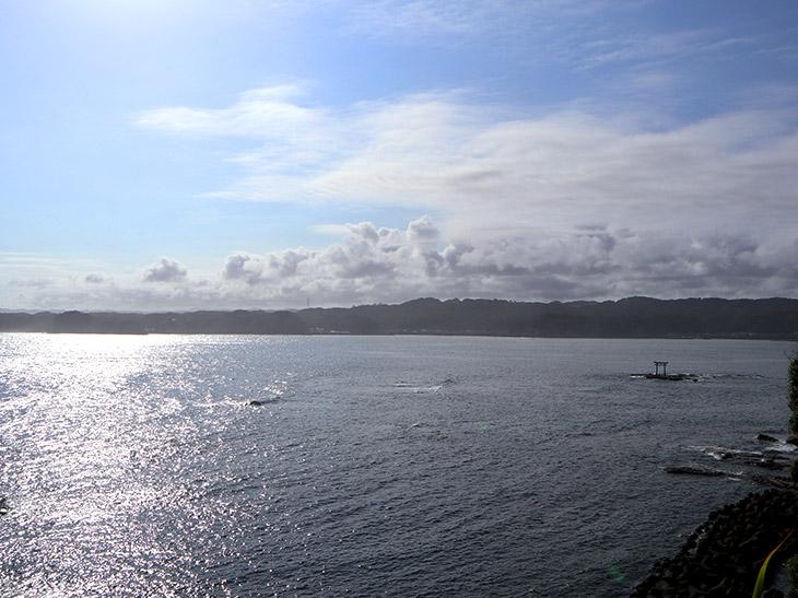 南房総の勝浦湾。串浜海水浴場や勝浦中央海水浴場があります