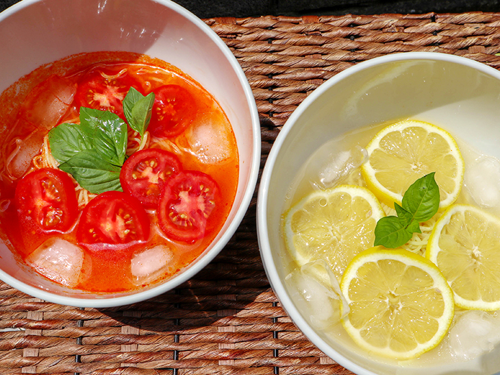 """罪悪感ゼロ! むしろ夜に食べたい """"冷たいトマト&レモンのラーメン""""は、美容とダイエットに最強!"""