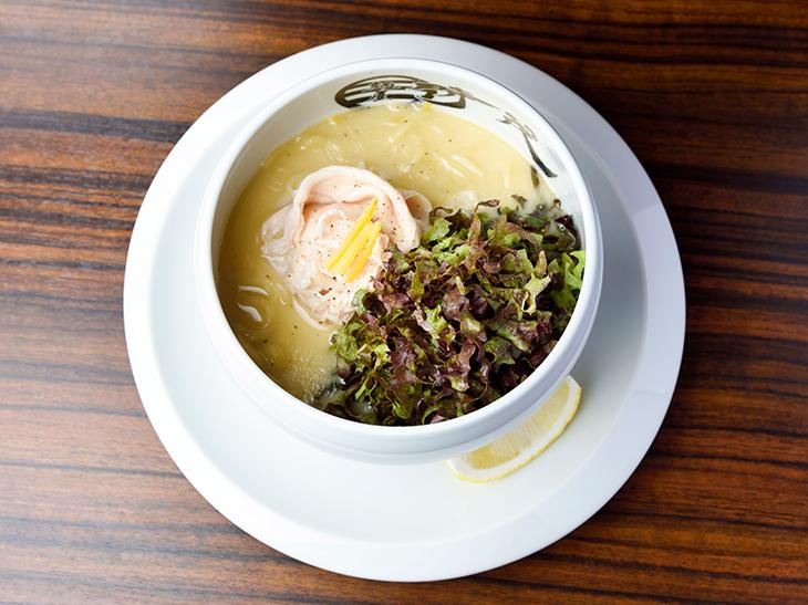 「鶏白湯ラーメン(塩)」850円