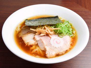 魚介系と動物系出汁の美しいバランスに癒される! 『麺や 河野』の「醤油ら~めん」が旨すぎる