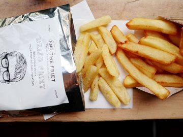 東京土産の新定番を発見! まるで揚げたてのフレンチフライみたいなポテトスナック「ドライフリット」とは?