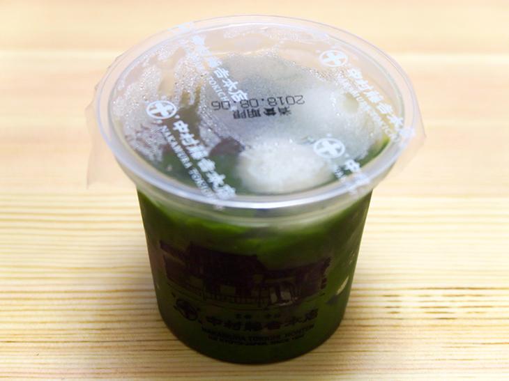 「生茶ゼリィ(抹茶)」は421円。ほうじ茶味もある。購入場所はグランドキヨスク京都