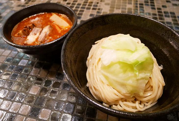 「海老つけ麺(中盛)」800円
