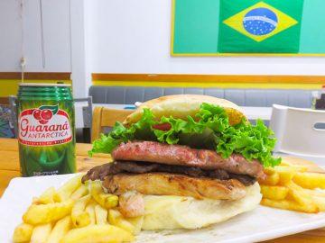 ボリュームが規格外! ディープな街・鶴見でブラジル印のビッグバーガーを食べてきた