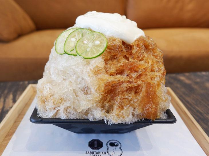 『廚 菓子 くろぎ』×『猿田彦珈琲』の期間限定カフェで、至極のかき氷を食べてきた