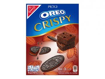 日本限定の大人味! 「オレオ クリスピー チョコブラウニー」が登場