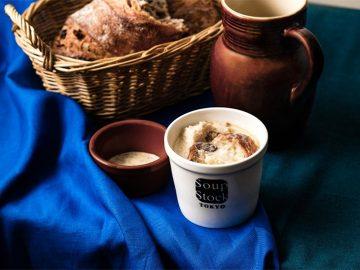 """フェルメールの世界観がスープに! 『Soup Stock Tokyo』から""""牛乳を注ぐ女""""のスープ登場"""
