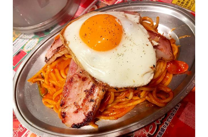 色々なトッピングができるのも『パンチョ』のスパゲティーの魅力