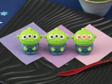 実はこれ和菓子なんです! 可愛すぎる和菓子「食べマス」からトイ・ストーリーのエイリアンが新登場